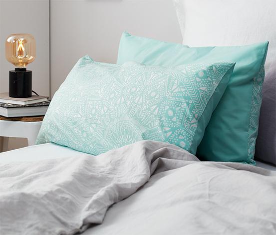 Poszewki na poduszki ze wzmocnionej bawełny, terakota, po ok. 80 x 40 cm