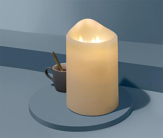 Świeca LED z prawdziwego wosku