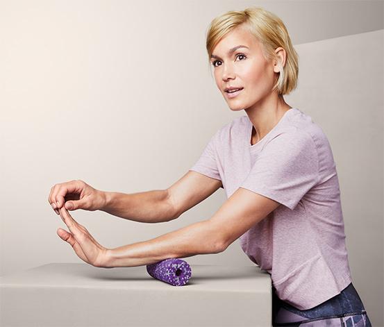Mini wałek do masażu mięśni głębokich