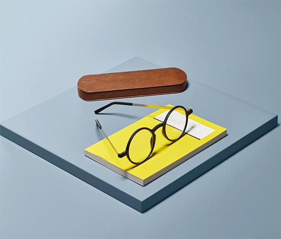 Bardzo płaskie okulary do czytania