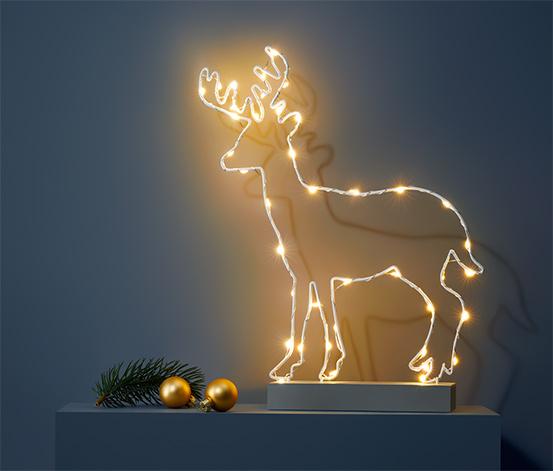 Dekoracja świetlna LED «Jeleń»