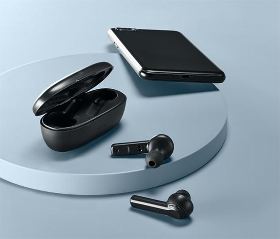 Słuchawki douszne TWS z funkcją Bluetooth®