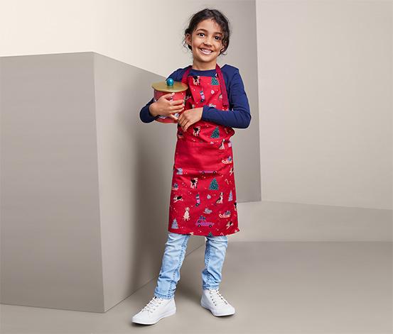 Fartuch kuchenny dla dzieci i dorosłych