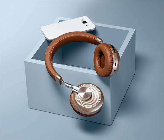 Słuchawki nauszne z funkcją Bluetooth®