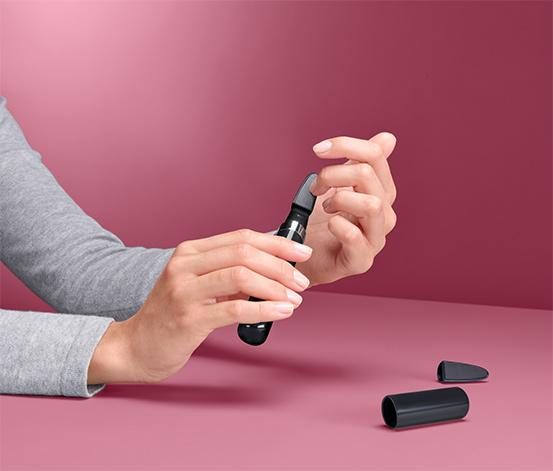 Elektryczny, szklany pilnik do paznokci