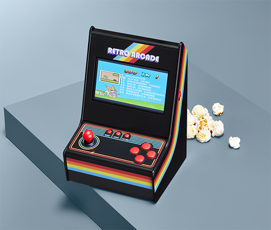 Miniaturowy automat do gry Arcade
