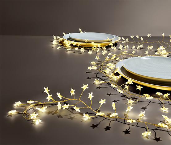 Girlanda oświetleniowa LED z gwiazdkami