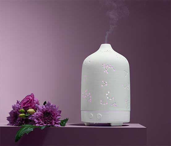 Dyfuzor zapachowy z nastrojowym oświetleniem
