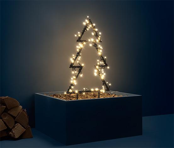 Zewnętrzna dekoracja świetlna LED «Choinka», mała