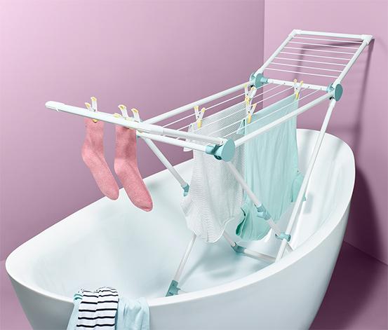 Wąska suszarka ze stali na pranie