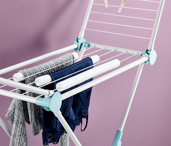 Rolki do suszenia prania bez zagnieceń