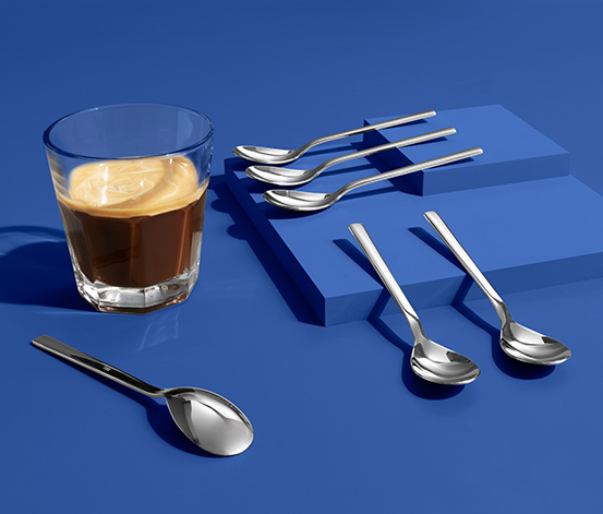 Łyżeczki do kawy, 6 sztuk