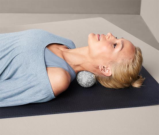 Podwójna piłka do masażu powięzi