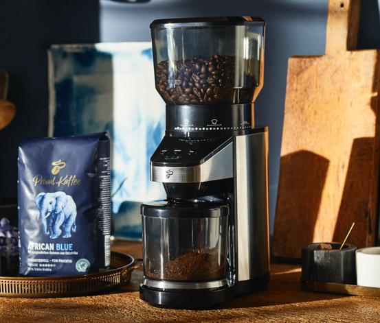 Elektryczny młynek do kawy z możliwością ustawienia stopnia zmielenia